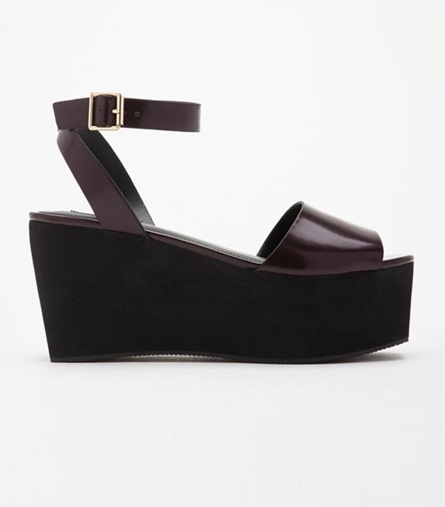 Forever 21 Flatform Sandals