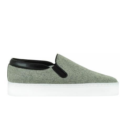 Ava V Felt Shoes