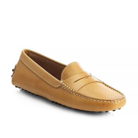 Leather Moccasin Loafers