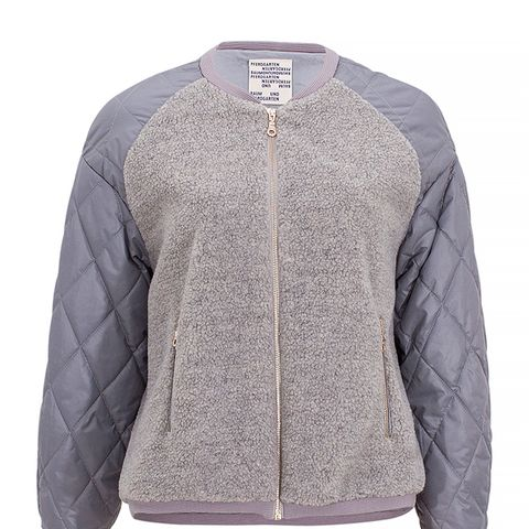 Gray Teddy Jacket