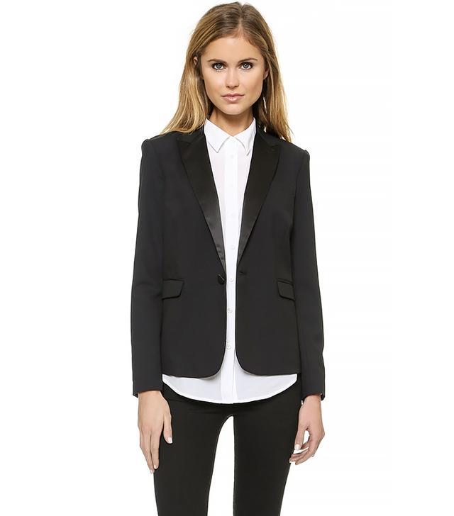 Rachel Zoe Katy Peaked Collar Blazer