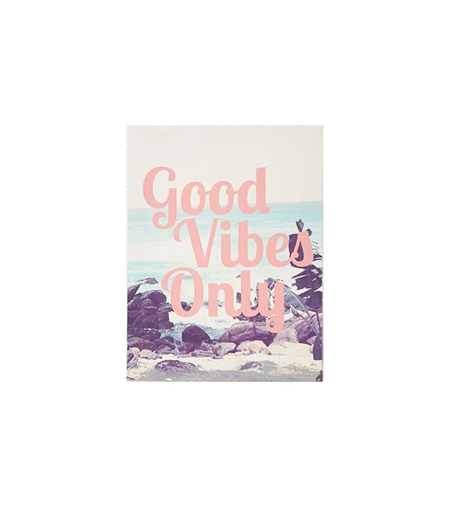 Forever21 Good Vibes Wall Art