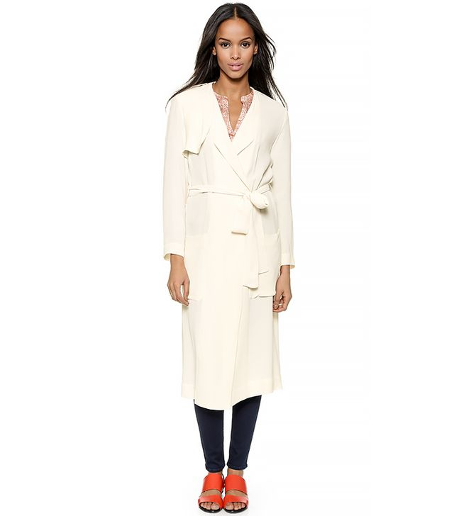 Twelfth by Cynthia Vincent Maxi Trench Coat