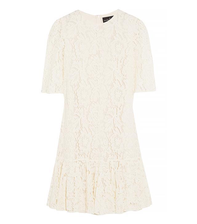 Needle & Thread Ruffle Lace Dress