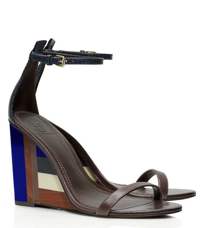 Tory Burch Colour-Cube Wedge Sandals