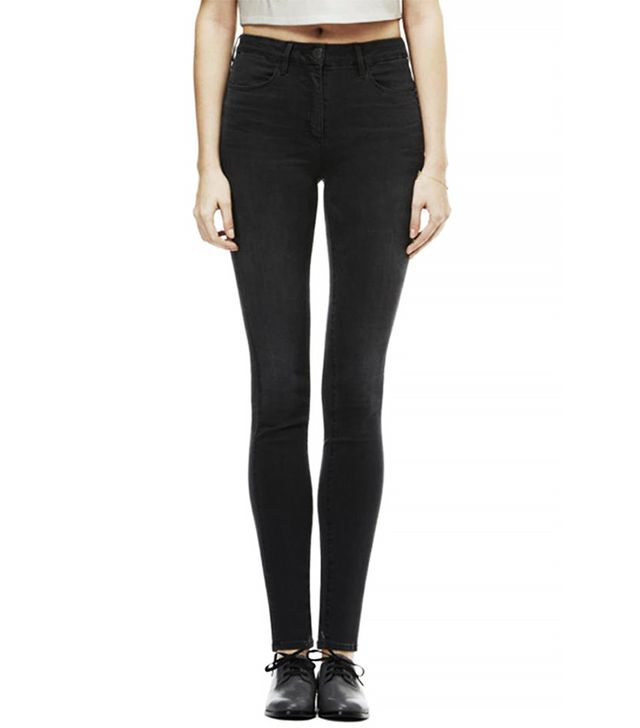 3x1 The High Rise Skinny Channel Seam Jeans