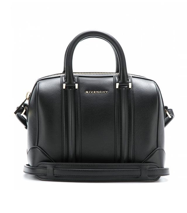 Givenchy Lucrezia Leather Bowling Bag
