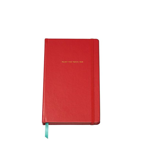Kate Spade Paint the Town Red Large Notebook