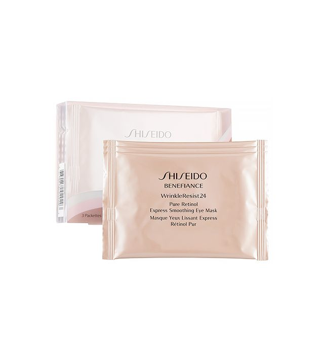 Shiseido Benefiance WrinkleResist24 Pure Retinol Express Soothing Eye Mask