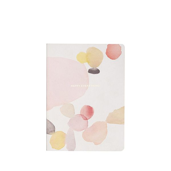 Paper Source Watercolor Happy Journal
