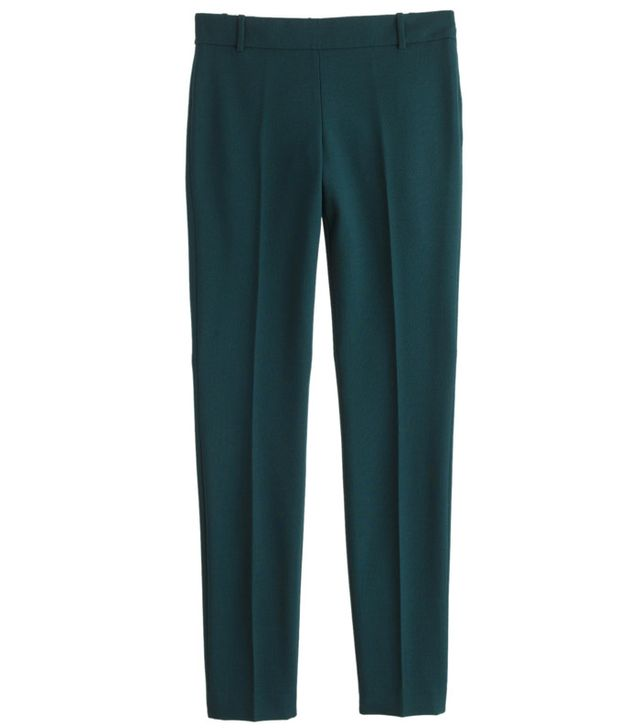 J.Crew Petite Full-Length Minnie Pant in Bi-Stretch Wool