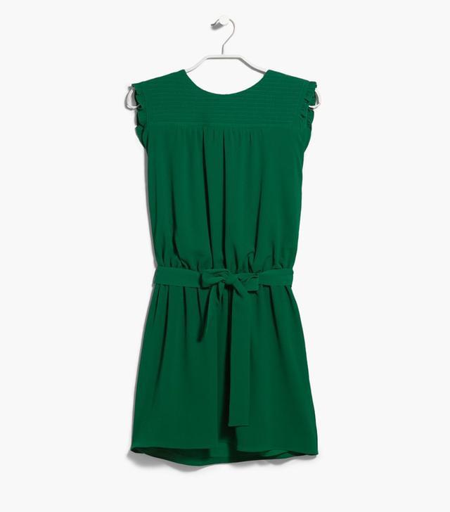 Mango Bow Stitched Dress