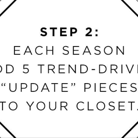 step 2 5 piece french wardrobe