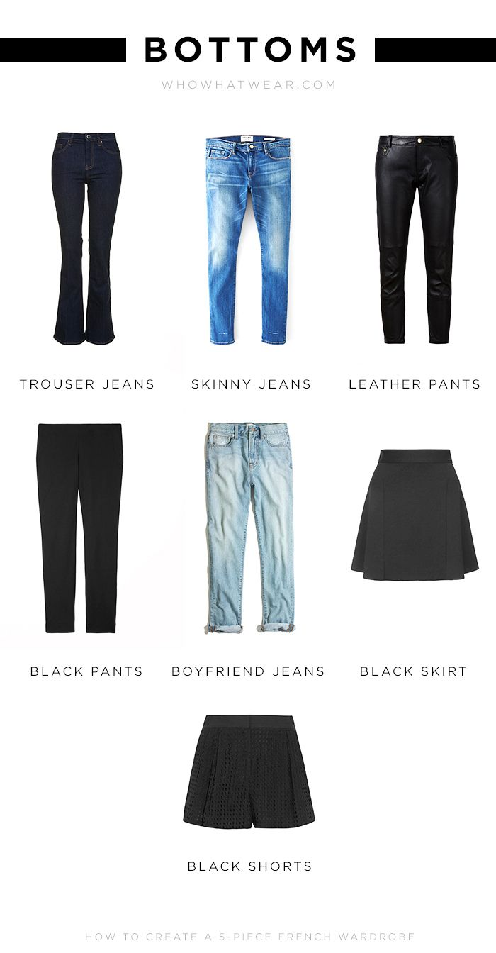 20 Basics Later, and You're Practically French   Who What Wear