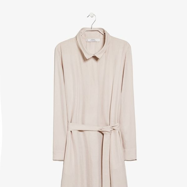Mango PREMIUM Flowy long trench