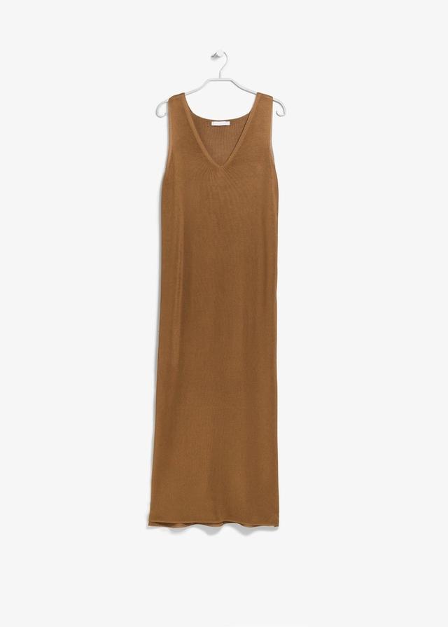Mango PREMIUM Fine-knit dress