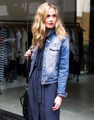 A Classic Take on the Denim Jacket for Spring