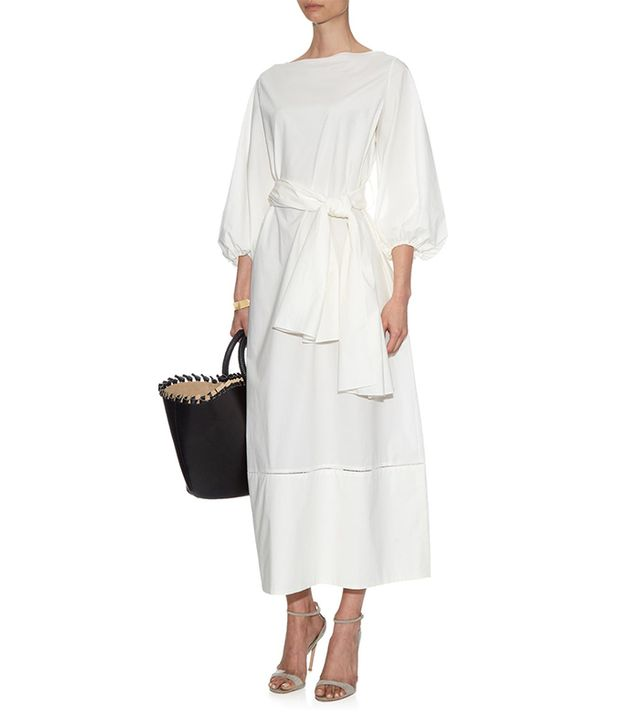 The Row Lecco Cotton-Poplin Maxi Dress