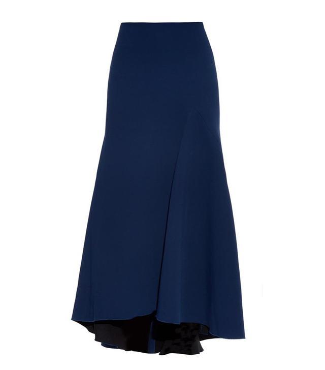 Ellery Wolfgang Fluted Crepe Skirt