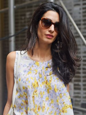 Only Amal Clooney Can Get Away With Wearing This at Disneyland