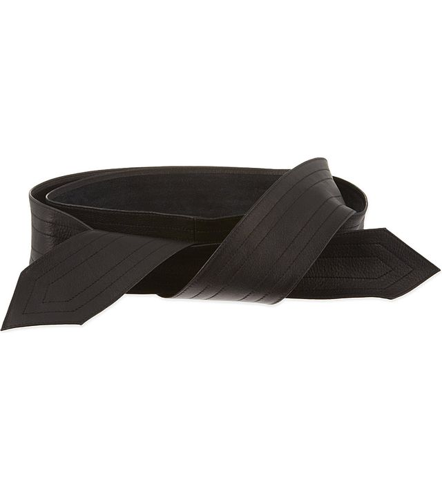 Claudie Pierlot Alisha Leather Belt