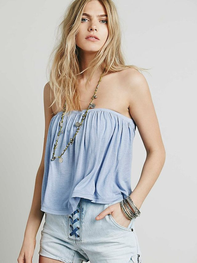 Free People Under The Sea Tube Top