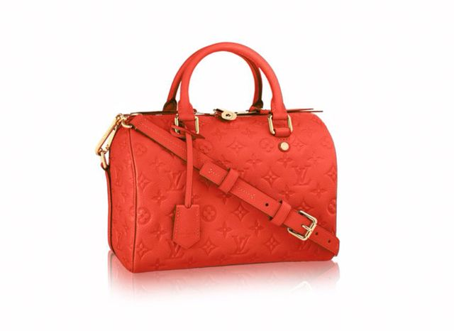 Louis Vuitton Speedy 25 in Red