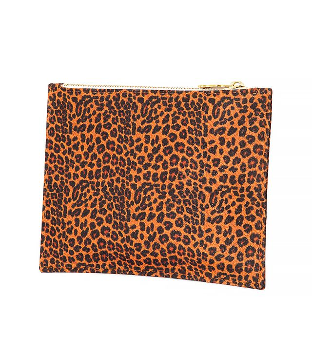 Wilby Leopard Primrose Pouch