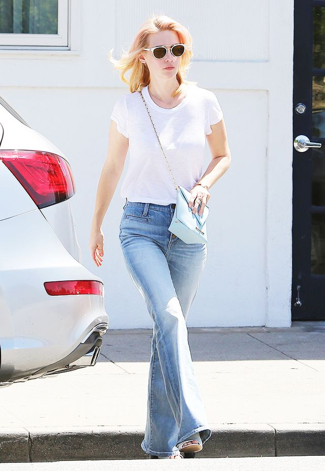January Jones' Madewell Pick: The Flea Market Flares