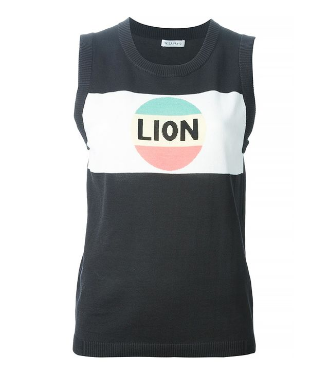 Bella Freud Lion Stripe Tank Top