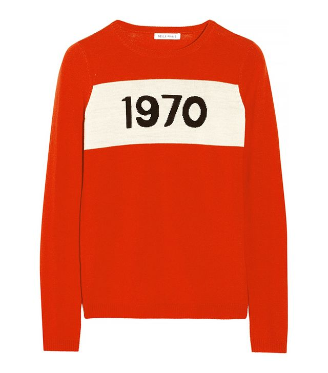 Bella Freud 1970 Intarsia Wool Sweater