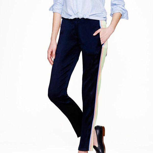J. Crew Collection Surf Stripe Pants