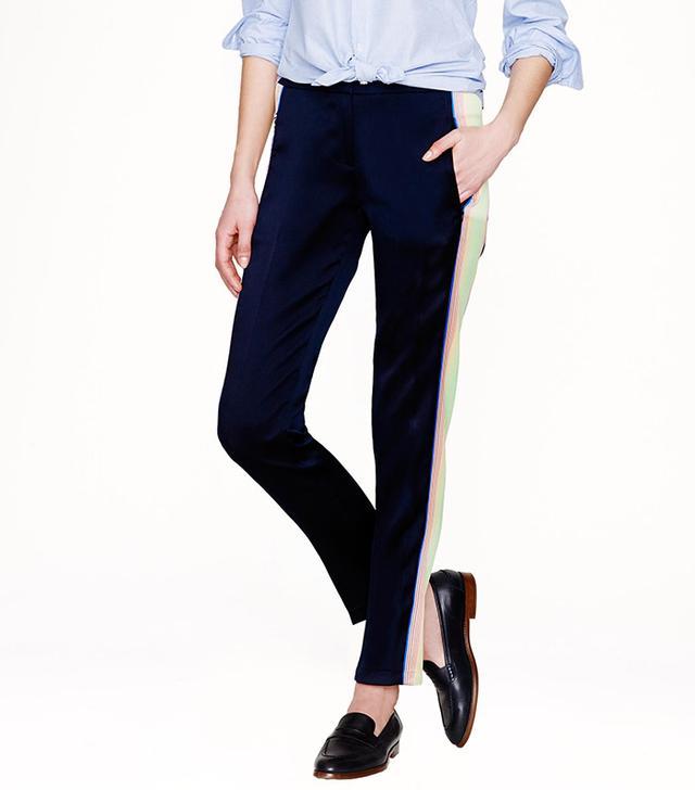 J. Crew Collection Surf Stripe Pants