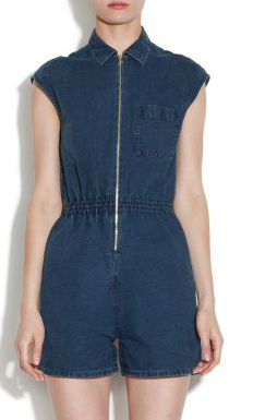 A.P.C. 50s Short Jumpsuit