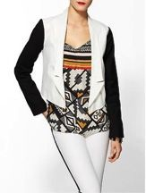 BB Dakota  Alton Contrast Arm Jacket