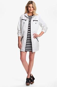 Michael Kors  Hooded Long Jacket
