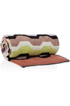 Missoni Home Omar Printed Cotton-Flannel Towel