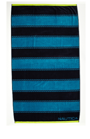 Nautica Stripe Beach Towel