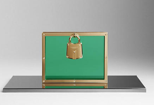 Burberry Framed Perspex Clutch