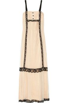 Alice by Temperley  Chloe Tulle and Satin Maxi Dress