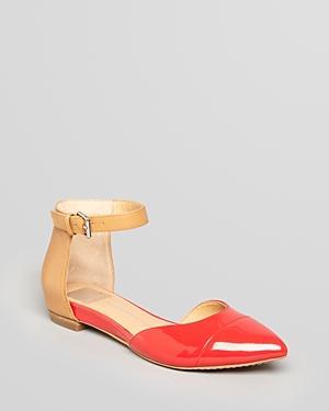Dolce Vita Gav Ankle Strap Flats