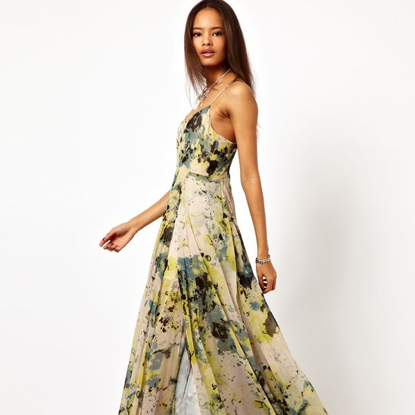 Religion  Hallucination Print Maxi Dress