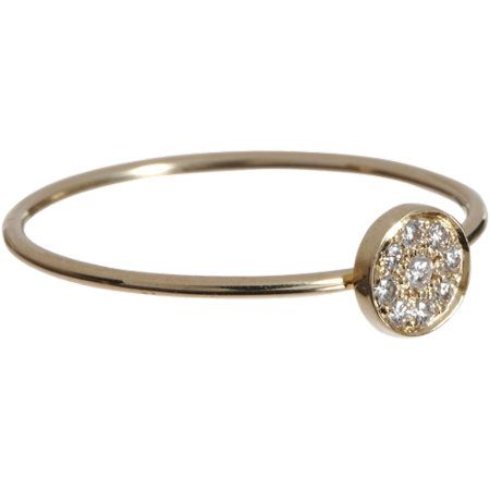 Jennifer Meyer  Diamond Circle Ring