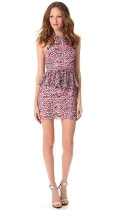 Charlotte Ronson  Charlotte Ronson Peplum Mini Dress