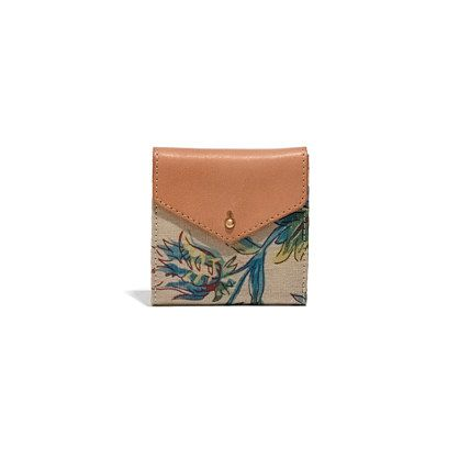 Madewell  The Dispatch Mini-Wallet in Garden Vine