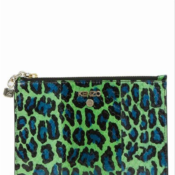 Kenzo  Tropical Sunset Zipped Pouch