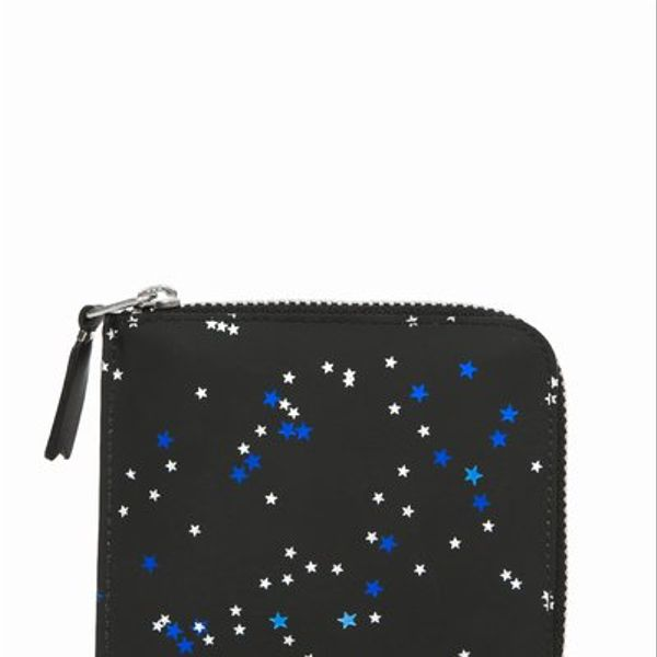 Comme des Garcons  Bright Star Half Zip-Around Wallet