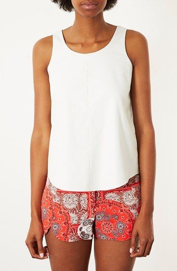 Topshop  Velma Sleeveless Top