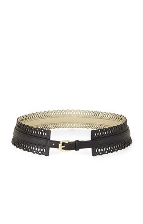 BCBG  Perforated Waist Belt