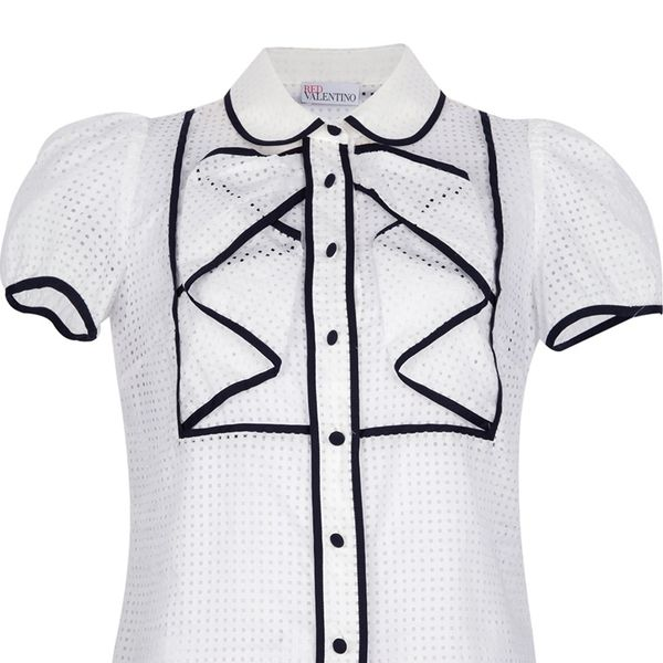 Red Valentino  Short-Sleeved Blouse